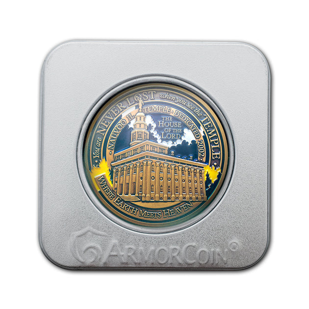 Nauvoo Temple Coin