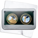 Payson Temple double medallion set