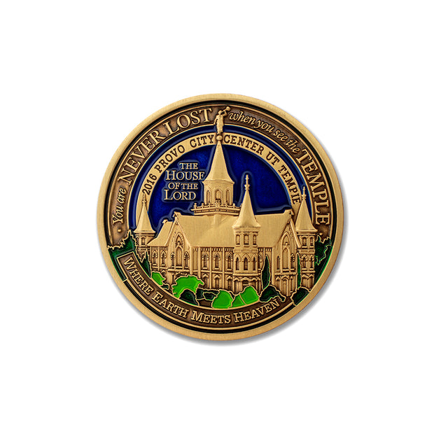 Provo City Temple Token