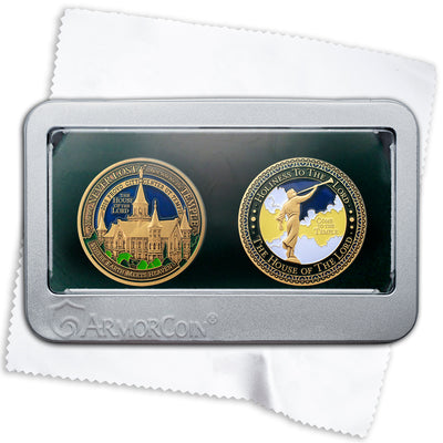 Provo City Center Temple Double Medallion Gift Set