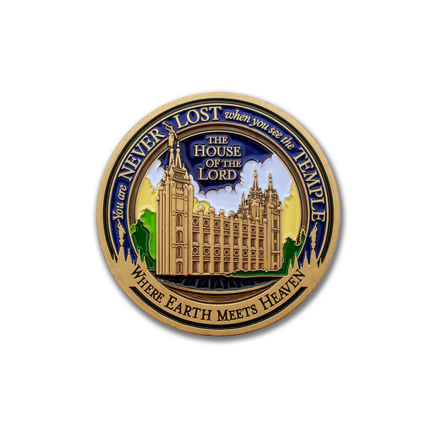 Salt Lake Temple Medallion emblem