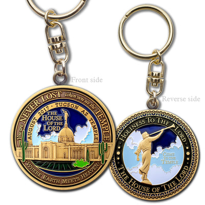 Tucson Temple Key Chain