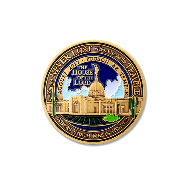 Tucson LDS Temple Medallion