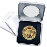 Emblem of Gratitude Gift Medallion Box