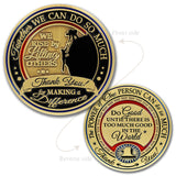 Gratitude Make a Difference Coin
