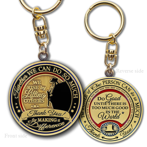 Power of One gift key chain