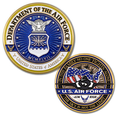 United States Air Force Challenge Coin · Armed Forces Coin