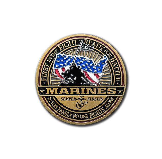 United States Marines Challenge Coin · Armed Forces Coin