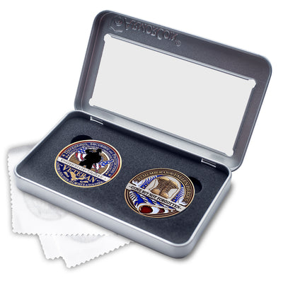 Veteran and Fallen Soldier double coin set