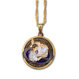 LDS Girls Baptism Pendant Necklace