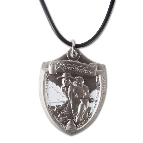 Military Style Pioneer Trek necklace