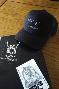 Good 2 Go Apparel - Black Out Trucker.