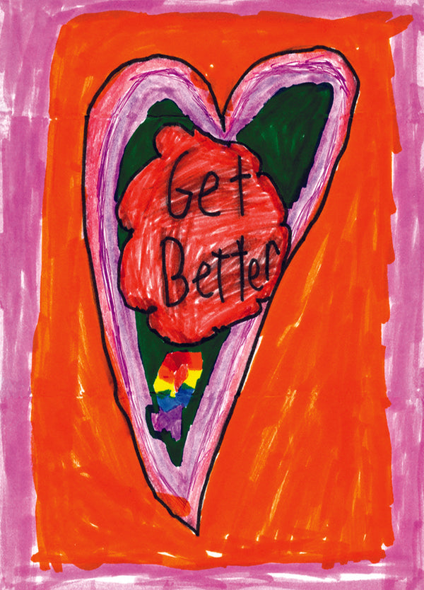 Get Better Heart Card