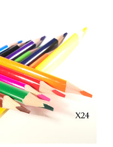 Yalong Colored Pencil | 24 Pencils (Single Pack)