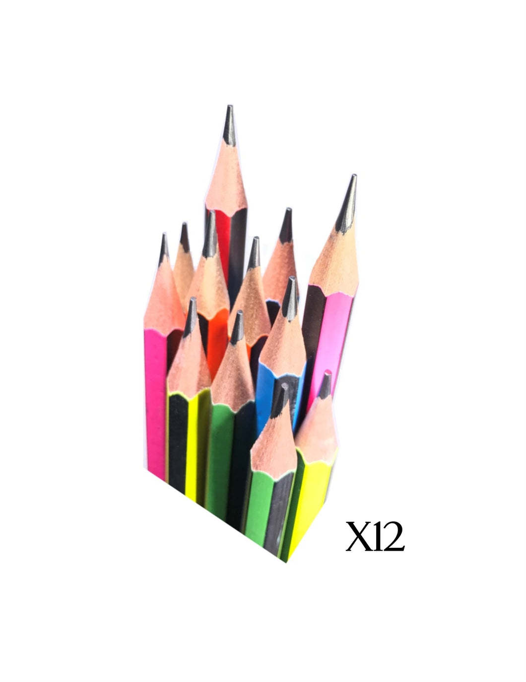 Yalong HB Lead Pencils | 12 Pencils (Single Pack)