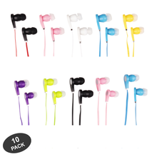 JustJamz Earbuds In-Ear 3.5mm Stereo - 10 pack