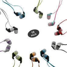 Color Call with Mic Earbuds for Kids - 10 pack