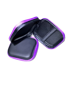 Square Earbud Case for Kids and Adults, 5 pack