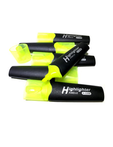 Rainbow Highlighters, Fluorescent Yellow markers with Chisel Tip - 30 Pack