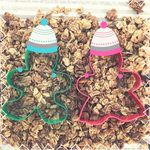 Gingerbread Nosh~ Seasonal Holiday Granola Clusters