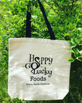 Canvas Happy-Go-Lucky Tote Bag