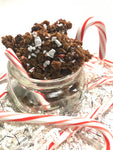 Dark Chocolate Peppermint Bark Nosh ~ Seasonal Holiday Granola Clusters