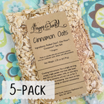 Cinnamon Instant Oats ~ 5-Pack