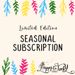 Seasonal Subscription ~ Limited Edition Flavors!