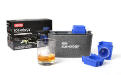 Dexas ice•ology™ Clear Ice Cube Trays (2 Large Spheres)