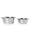 Stainless Steel Replacement Bowls for Elevated, Collapsible Feeders - Set of Two