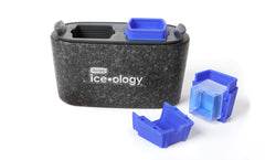 Dexas ice•ology™ Clear Ice Cube Trays (2 Large Cubes)