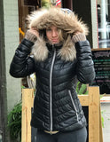 Bergen of Norway Sasha Down Winter Leather Jacket