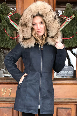 Bergen of Norway Kimberly Shearling Coat