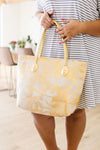 Golden Palms Tote Bag