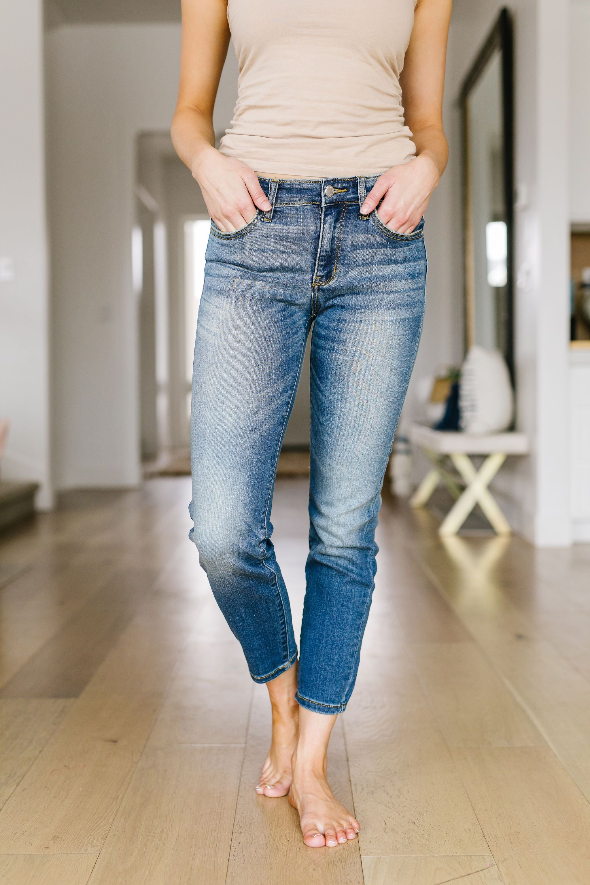 Plainly Perfect Relaxed Mid-Rise Jeans