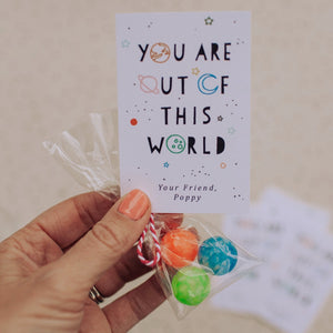 OUT OF THIS WORLD | printable valentines