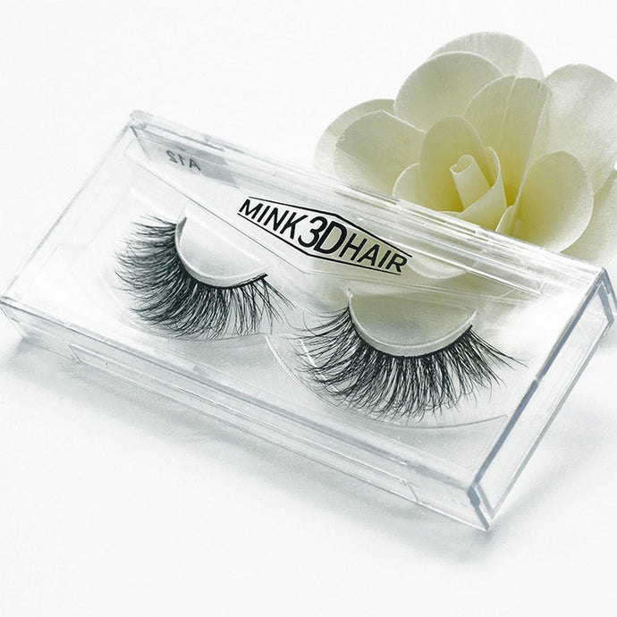 Mink 3D False Eyelashes - 1 Pair