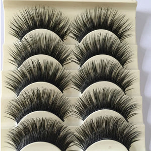 Thick Dramatic Lashes - 5 Pairs