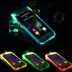 LED Flash Light Up Case for iPhone - Your Beauty Outlet