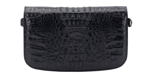 Alligator Black Clutch - NBI Enterprise