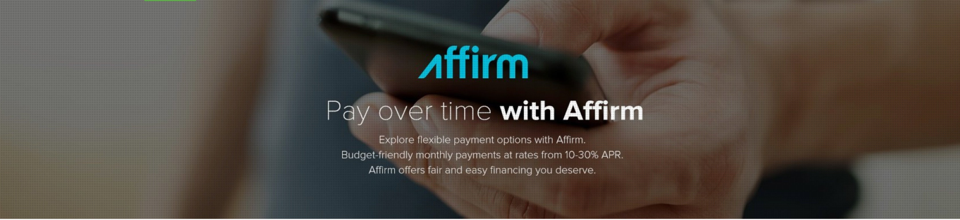 Affirm Shades of Havana Humidor Financing Monthly Payments