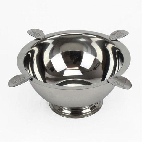 Image of 4 Stirrup Original Stinky Cigar Ashtray - Stainless - Shades of Havana
