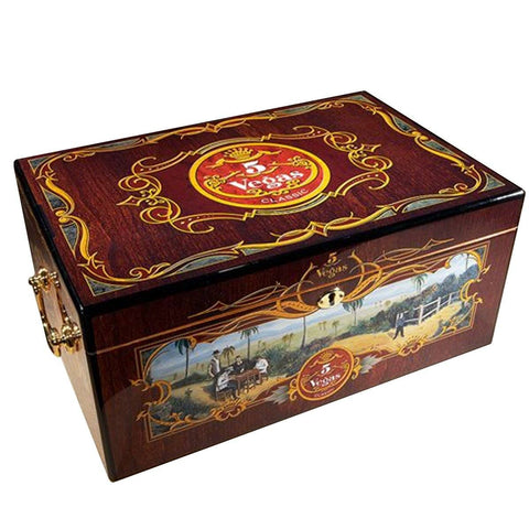 Image of Limited Edition 5 Vegas Tradicion Humidor 100 Cigar Count - Shades of Havana