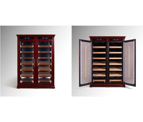 Reagan 4000 Cigar Electronic Humidor Cabinet | Electric Controls - Shades of Havana