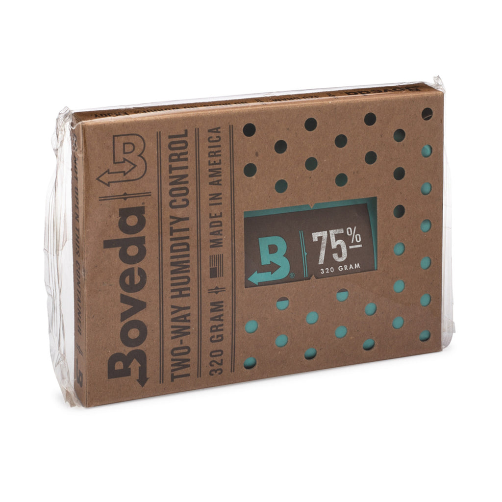 Boveda Humidity Pack - 75% / 320g - 6 Count Retail Pack - Shades of Havana