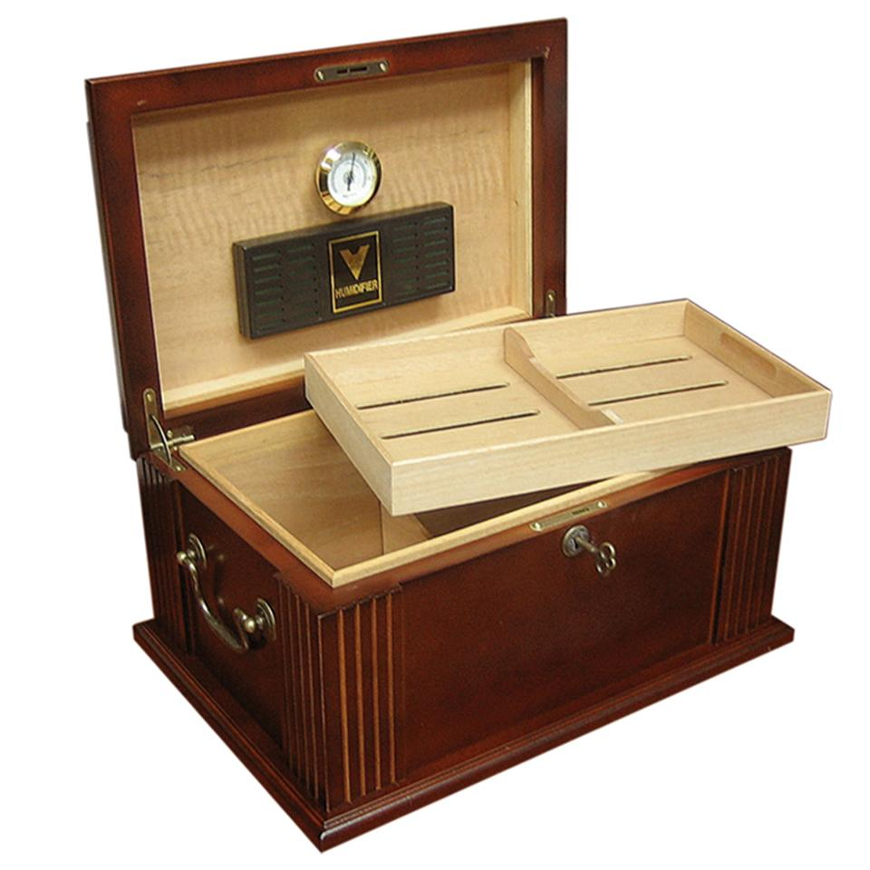Caesar Antique Humidor 50 Cigar Count - Shades of Havana