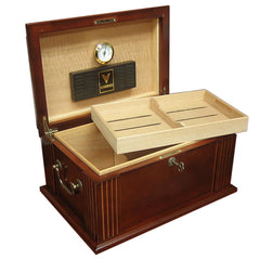 Caesar - Antique Cigar Humidor - 50 Cigars - Prestige Import Group