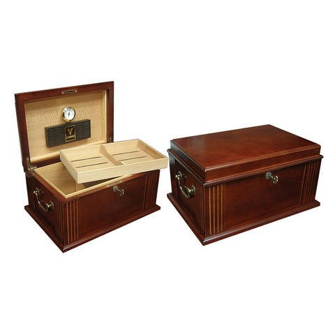 Image of Caesar Antique Humidor 50 Cigar Count - Shades of Havana