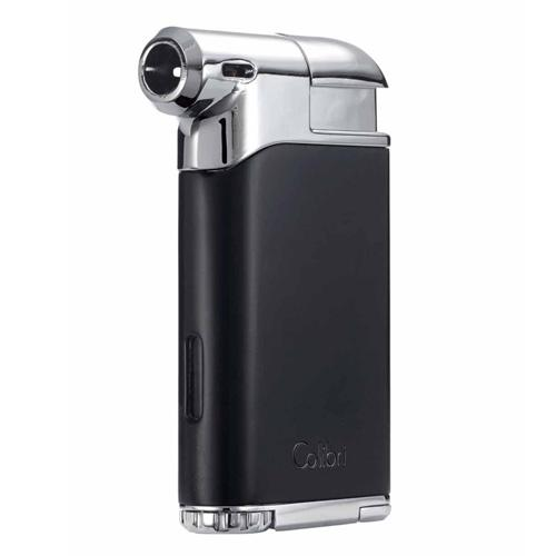 Colibri Pacific Air Pipe Flame Lighter - Shades of Havana