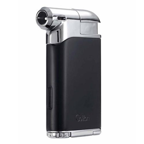 Image of Colibri Pacific Air Pipe Flame Lighter - Shades of Havana